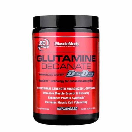 glutamine decante musclemeds