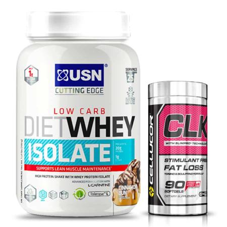 diet whey + clk